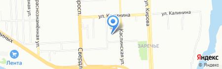 Удачный на карте Челябинска
