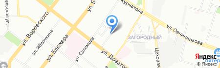 Фридом проект на карте Челябинска