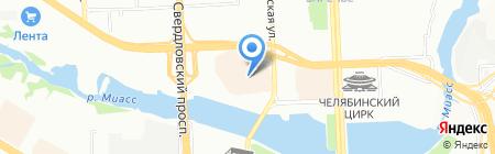 Элегант на карте Челябинска