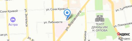 АВР СТУДИО на карте Челябинска