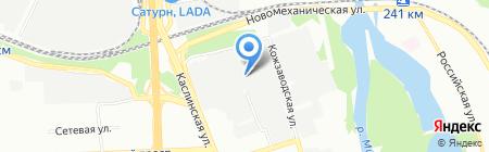 ЗИП ПЛЮС на карте Челябинска