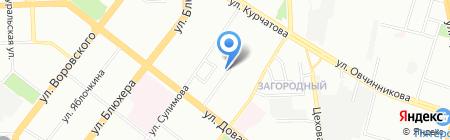 Академия здоровья на карте Челябинска