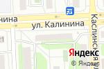 Схема проезда до компании E-motion в Челябинске