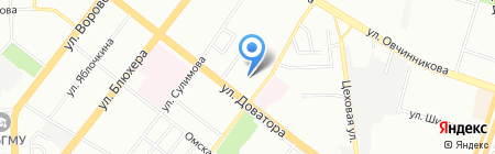 СитиШоу на карте Челябинска