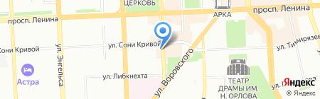 Дзёдо на карте Челябинска