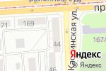 Схема проезда до компании Оптик-плюс в Челябинске
