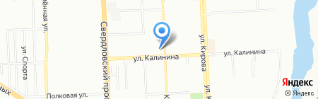 Экзотик тур на карте Челябинска