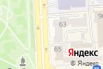 Схема проезда до компании L-Studio в Челябинске