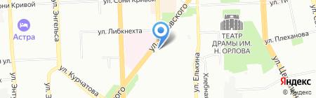 Инрост на карте Челябинска