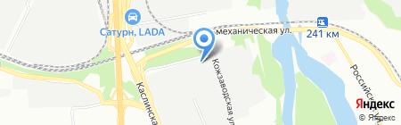 Евроколеса на карте Челябинска
