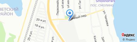 Макс на карте Челябинска