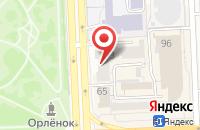 Схема проезда до компании Вэа-Пресс в Челябинске