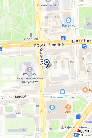 Imkosmetik на карте Челябинска