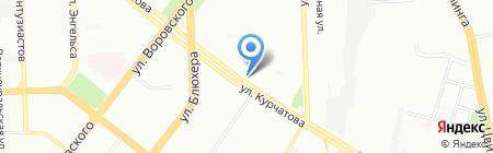 Мир отдыха на карте Челябинска