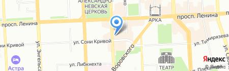 Exclusive на карте Челябинска