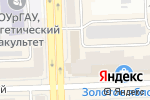 Схема проезда до компании Exclusive в Челябинске