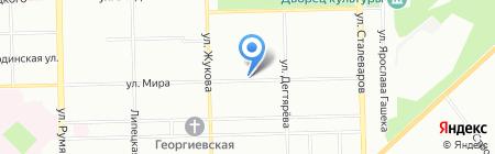 Местный на карте Челябинска