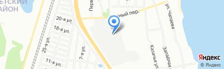 Меркурий на карте Челябинска