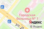 Схема проезда до компании Городская больница №15 в Челябинске