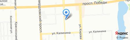 Победа на карте Челябинска