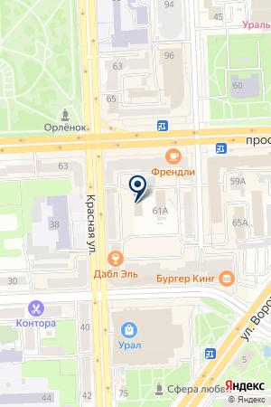 ФОНД БУДУЩЕЕ ОТЕЧЕСТВА на карте Челябинска