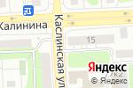 Схема проезда до компании Das в Челябинске