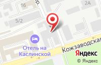 Схема проезда до компании Инновационная Строительная Компания «Инженерные Системы» в Челябинске