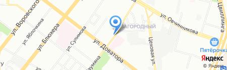 Квартирный ответ на карте Челябинска