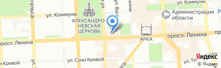 Chester на карте Челябинска