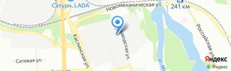 Монтажное управление №3 на карте Челябинска