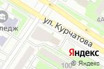 Схема проезда до компании Многопрофильная компания в Челябинске