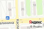 Схема проезда до компании Строитель в Челябинске