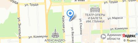 КОМАНДОР ЧЕЛЯБИНСК на карте Челябинска