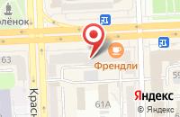 Схема проезда до компании Comepay в Татарке