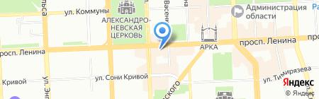 Вестфалика на карте Челябинска