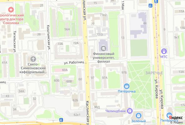 купить квартиру в ЖК по ул. Работниц