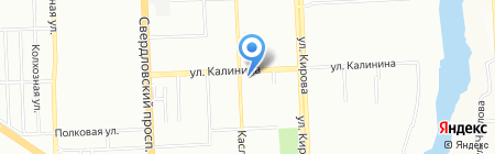 Отдел судебных приставов по Калининскому району г. Челябинска на карте Челябинска