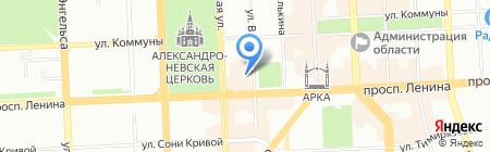 Контент-Логистик на карте Челябинска