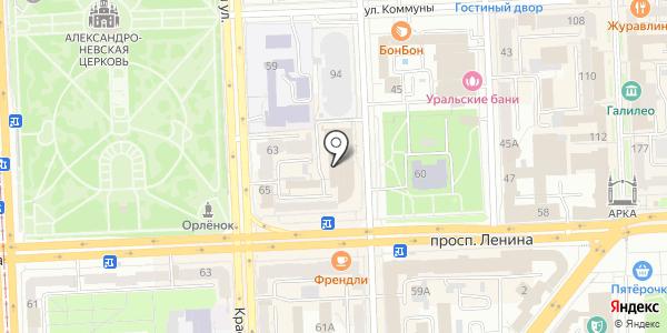 Контент-Логистик. Схема проезда в Челябинске