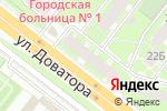 Схема проезда до компании Городской аптечный склад №1 в Челябинске