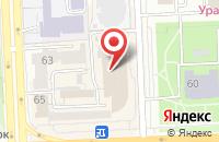 Схема проезда до компании Прорыв в Челябинске