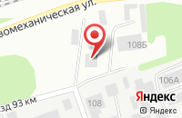 Схема проезда до компании Ударник в Челябинске