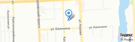 Детский сад №265 на карте Челябинска