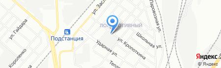 Вестерн на карте Челябинска