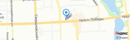 Хамелеон на карте Челябинска