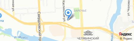 Thai Lotus на карте Челябинска