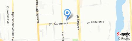 Янтарь-Авто на карте Челябинска