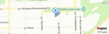 ЖИЛСТРОЙ на карте Челябинска