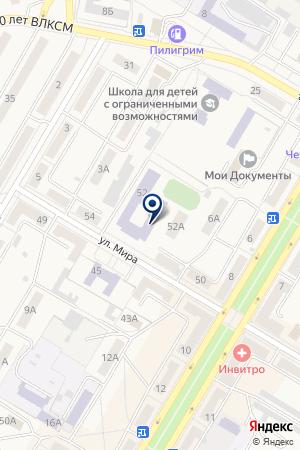 АВТОШКОЛА АРТЭС на карте Коркино