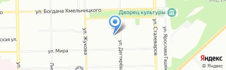 H2O-Экология на карте Челябинска